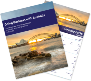 Doing Business with Australia Bundle
