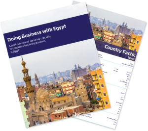 Doing Business with Egypt Bundle