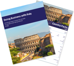 Doing Business with Italy Bundle