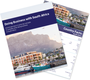 Doing Business with South Africa Bundle